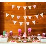 Un cumpleaños rosa y verde
