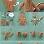 Reciclando los guantes