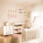 Un dormitorio en rosa