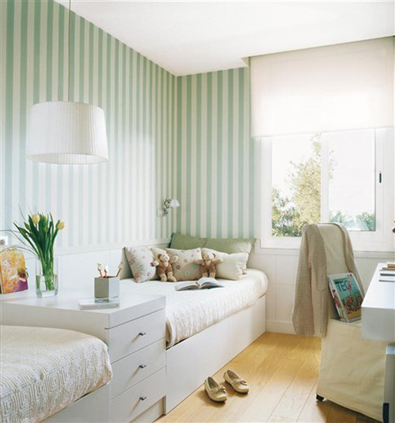 Papeles pintados en los dormitorios infantiles ahora - Papeles pintados dormitorios ...