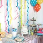 Un cumpleaños de circo infantil