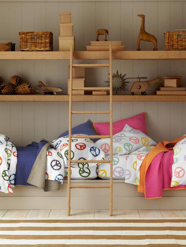 Dormitorios para ni o y ni a ahora tambi n mam - Dormitorios infantiles mixtos ...