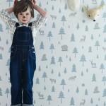 Hibou Home: Papeles pintados y textiles para niños