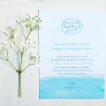 Invitaciones de boda con frase