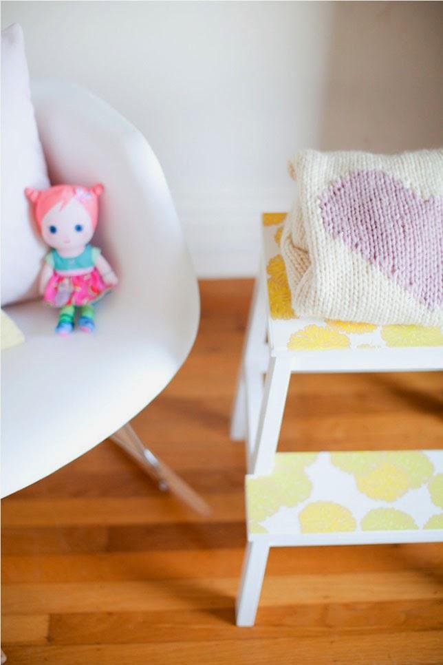 Un dormitorio infantil con olor a verano ahora tambi n mam for Dormitorio infantil bosque