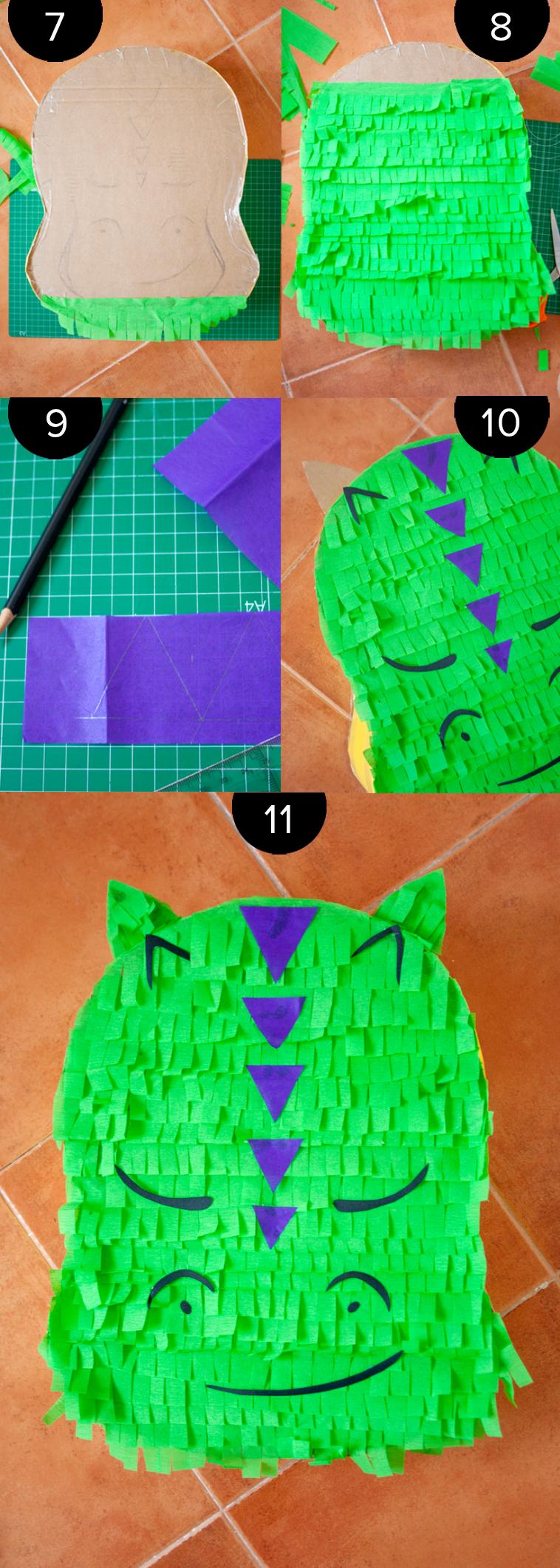 piñata de dragón