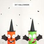 Lapicero de Halloween: un diy monstruoso