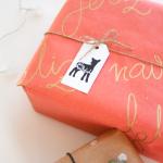 DIY: papeles de regalo personalizados
