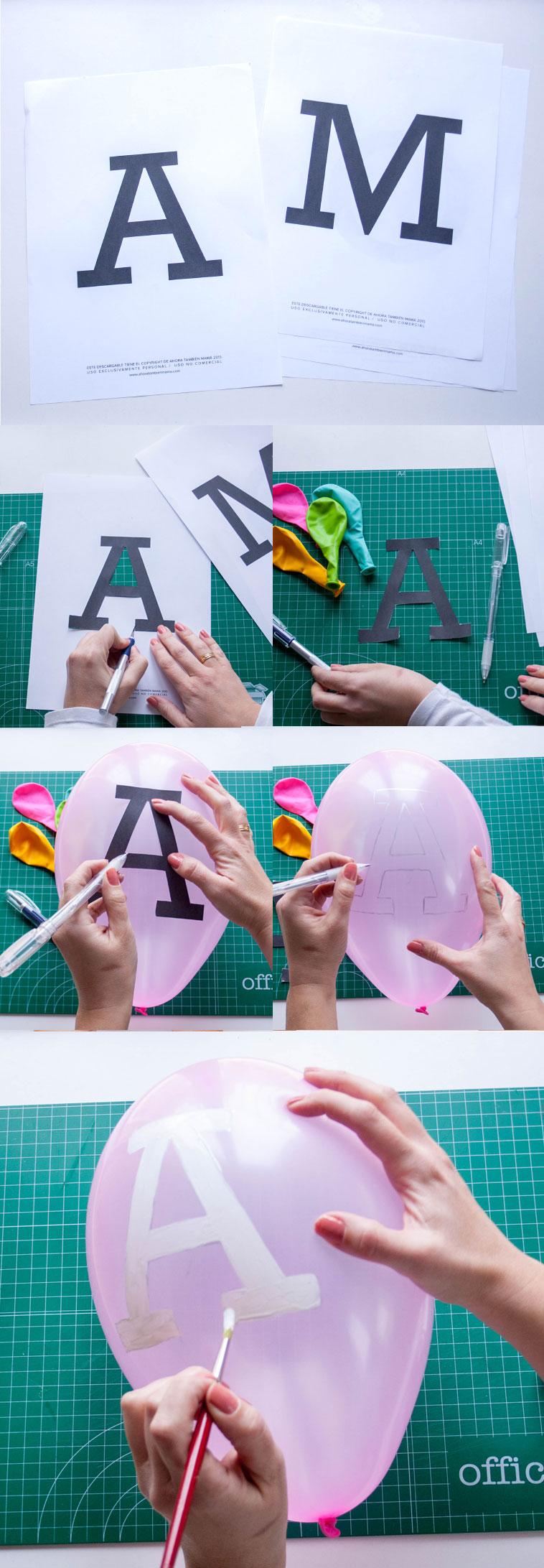 DIY globos para San Valentín