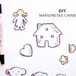 DIY marionetas chinescas de cuento