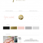 Nueva marca y diseño de web para Your wished wedding