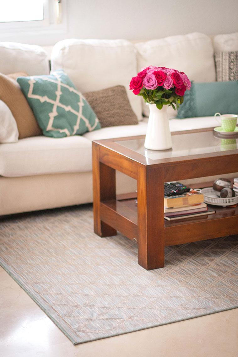 Una alfombra f cil de limpiar y adem s preciosa ahora - Limpiar alfombra en casa ...
