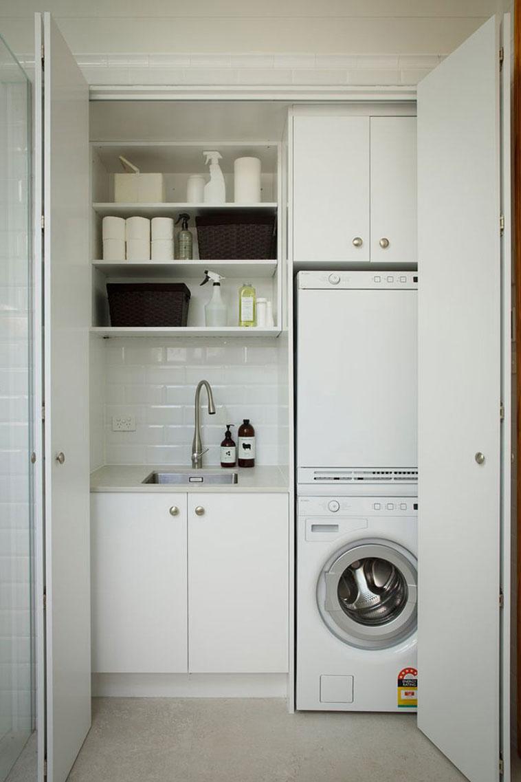 integrar lavadero en la cocina